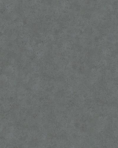 Non-Woven Wallpaper Concrete Plain anthracite 32273