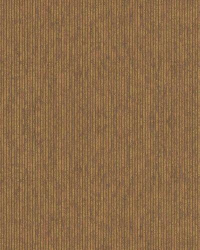 Non-Woven Wallpaper Stripes Structure bronze gold 32263