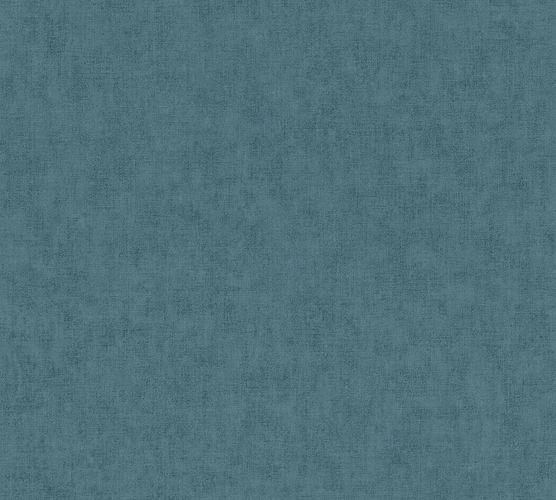 Non-Woven Wallpaper Plain Textile turquoise blue 37536-3 online kaufen