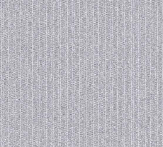Wallpaper non-woven fine stripes grey white 37550-5 online kaufen