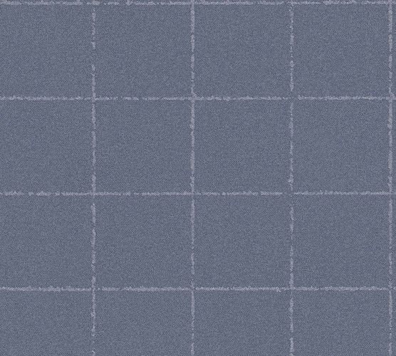 Wallpaper non-woven checkered dark grey 37551-2 | 375512 online kaufen