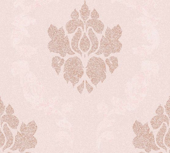 Wallpaper non-woven baroque rose bronze 37552-5 | 375525