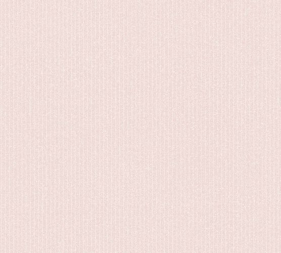 Wallpaper non-woven fine stripes rose 37550-3 | 375503