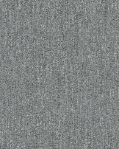 Non-woven wallpaper textured plain anthracite31815 online kaufen