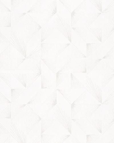 Vliestapete Schöner Wohnen Geometrisch weiß 31841