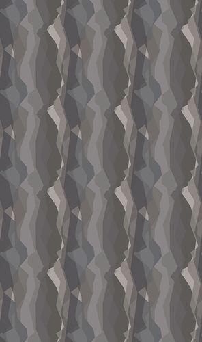 Non-woven wallpaper graphical stripes brown 31864
