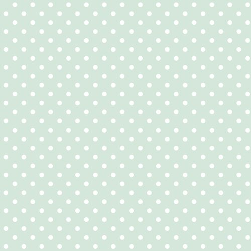 Non-woven wallpaper dots green white 072095 online kaufen