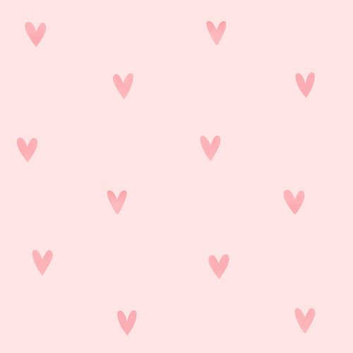 Non-woven wallpaper hearts rose pink 072131 online kaufen