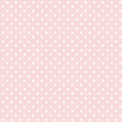 Non-woven wallpaper dots rose white 072091 online kaufen