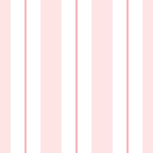 Non-woven wallpaper striped white rose 072021