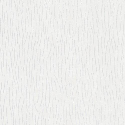 Vliestapete Marburg Striche weiß grau metallic 84879
