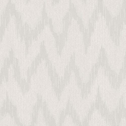 Non-Woven Wallpaper Zig-Zag Abstract grey 84894