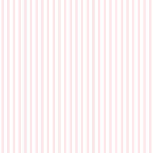 Kids paper wallpaper feine stripes white rose 102302