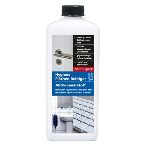 Hygiene Flächen-Reiniger Aktiv Sauerstoff Corona SARS 1 L