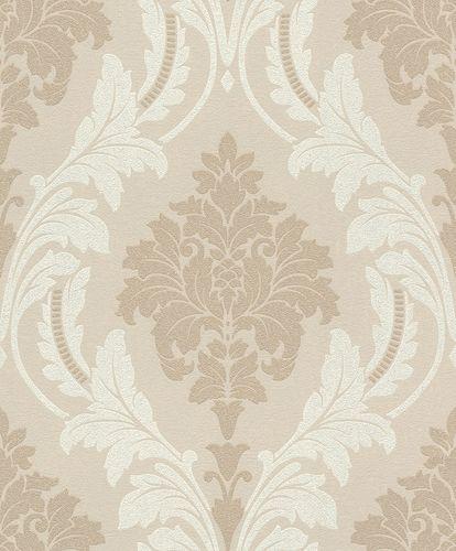 Non-Woven Wallpaper Baroque grey beige Glitter 541618 online kaufen