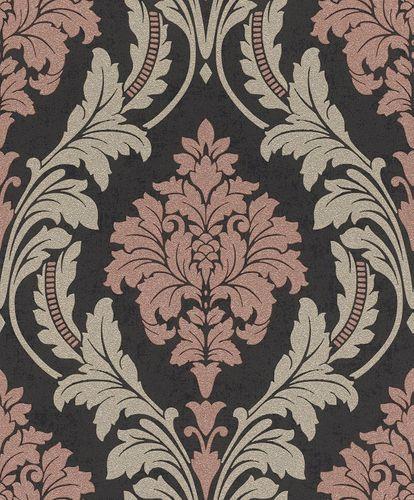 Non-Woven Wallpaper Baroque black beige Glitter 541656 online kaufen