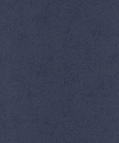 Strukturtapete Uni dunkelblau 541830