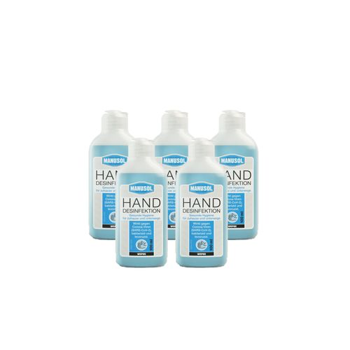 5er Wepos Hand-Desinfektion 100 ml