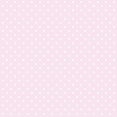 Kinder Vliestapete Pünktchen rosa Glanz 346818