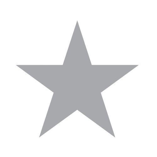 Kids non-woven wallpaper star white grey 347672 online kaufen