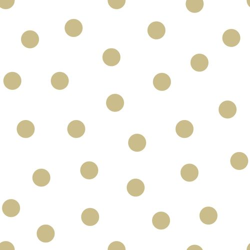 Kids non-woven wallpaper points white gold glossy 347674 online kaufen