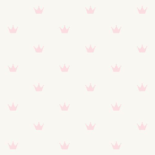 Kids non-woven wallpaper princess silver rose 347702 online kaufen