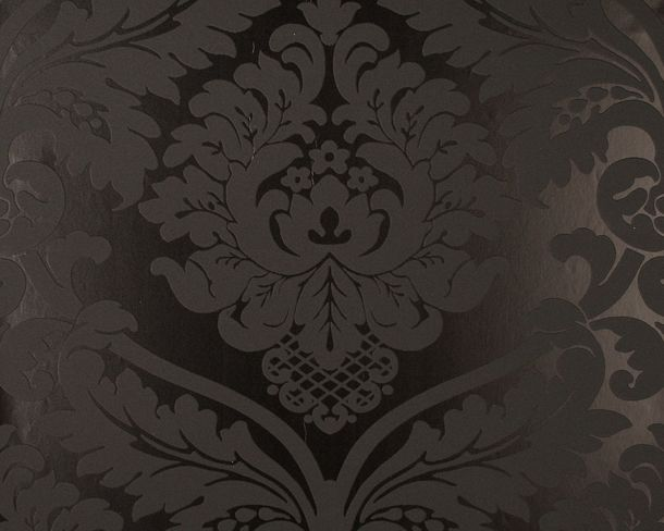 Retro Baroque Wallpaper Black 5526-31 552631