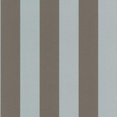 Non-woven wallpaper stripes blue brown 542721