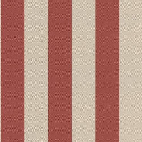 Non-woven wallpaper stripes beige red 542745 online kaufen
