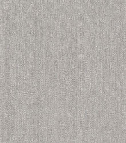Non-woven wallpaper mottled plain grey silver 545432
