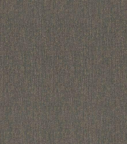 Non-woven wallpaper mottled plain black gold 545487 online kaufen