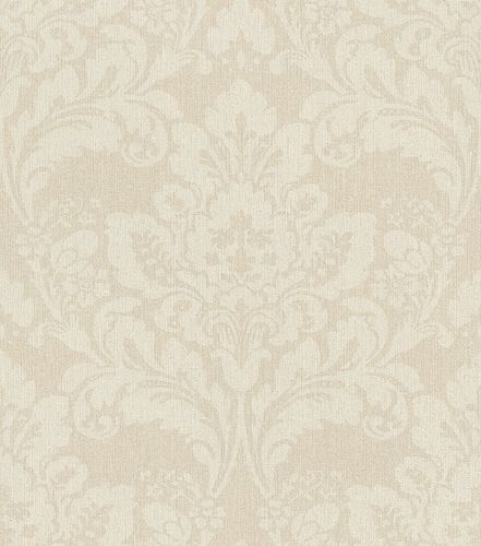 Non-woven wallpaper baroque sand cream 547313