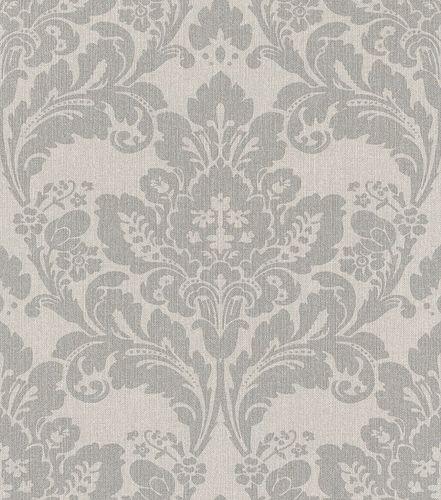 Non-woven wallpaper baroque grey silver 547320 online kaufen