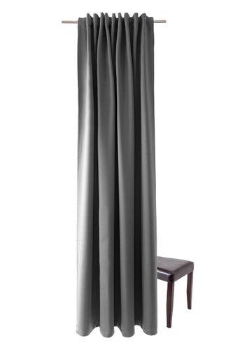 Loop Curtain Homing Plain dark grey opaque online kaufen