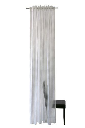 Loop Curtain Homing Squares white semi-transparent online kaufen
