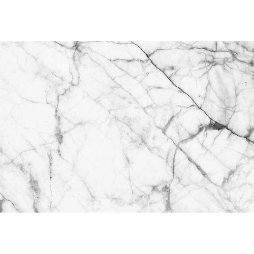 Photo Non-Woven Wallpaper Marble Stone black white