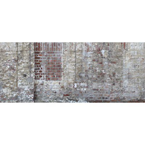 Fototapete Vlies Premium Backstein Mauer braun creme