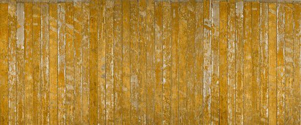 Photo Non-Woven Wallpaper Wood Flooring beige cream