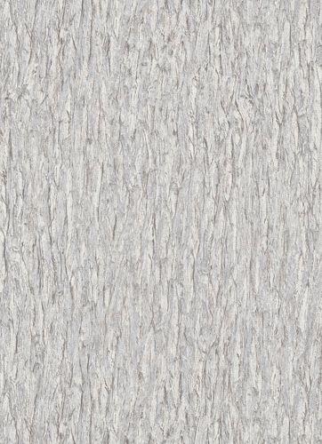 Vliestapete Rinde grau-weiß 10124-14