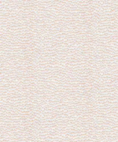 Vliestapete 3D Federn creme-rosa 10129-43