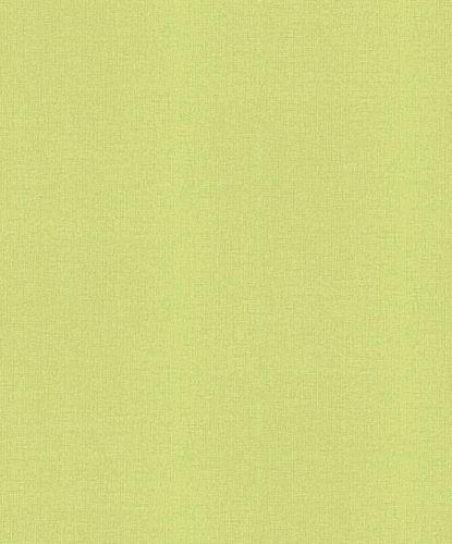 Non-woven wallpaper plain green 10140-07