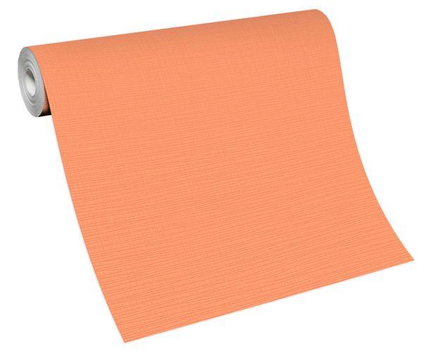 Non-woven wallpaper plain orange 13082-04