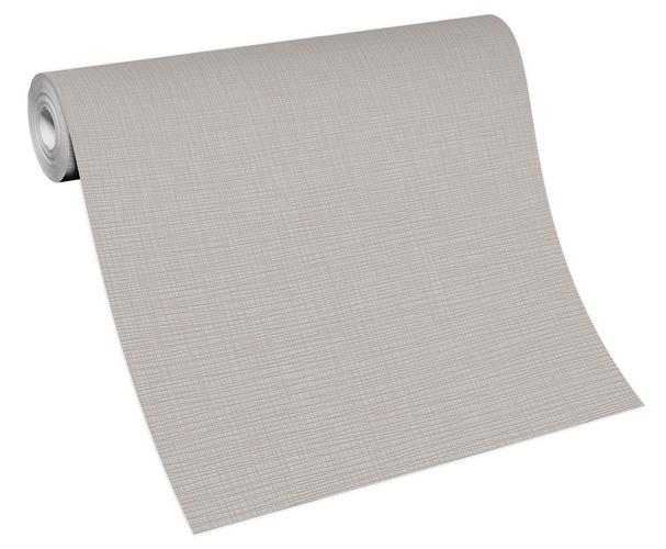 Non-woven wallpaper plain taupe 13082-37