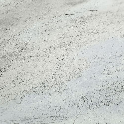 Non-woven wallpaper plastered wall grey white 37649-1