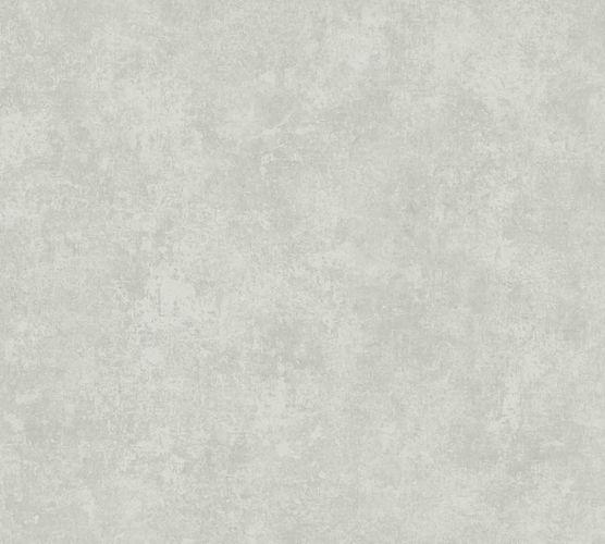 Non-woven wallpaper plain silver-grey 37654-3