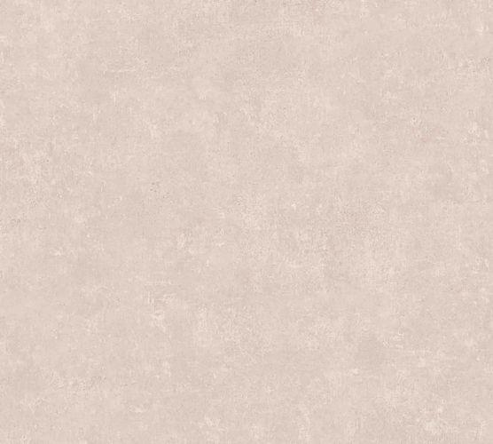 Non-woven wallpaper plain cream-rose 37655-2