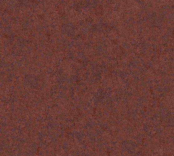 Vliestapete Uni rot-braun 37655-3