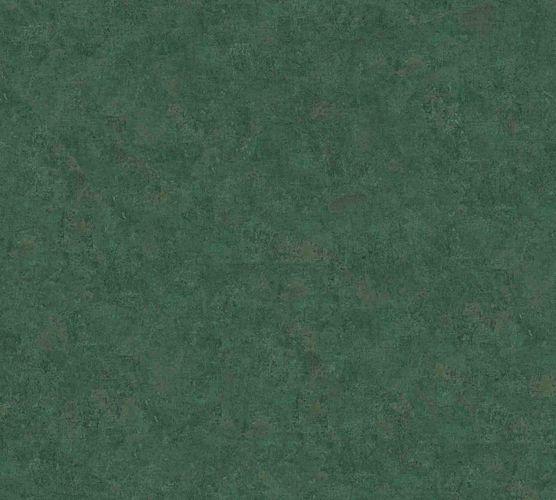 Vliestapete Uni grün 37655-8