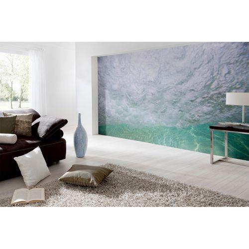 Fototapete Vlies Premium Meer Wasser grün türkis weiß