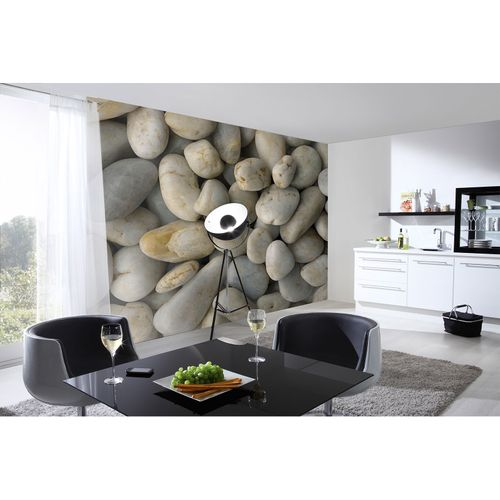 Photo Wallpaper Pebbles beige grey AS Creation DD108800